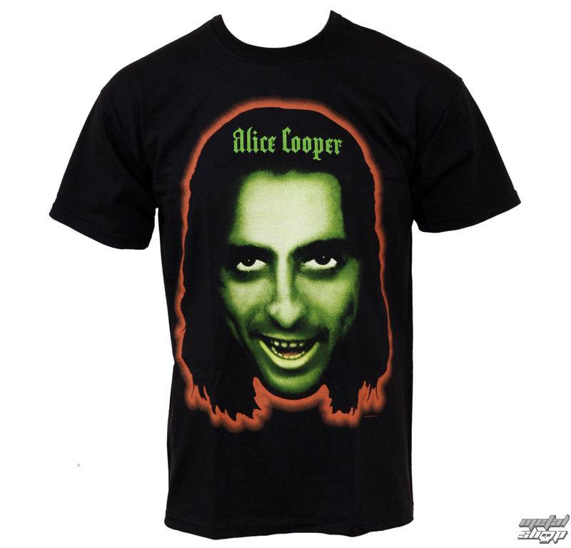 tričko pánske Alice Cooper - Goes To Hell Face - PLASTIC HEAD - PH7045