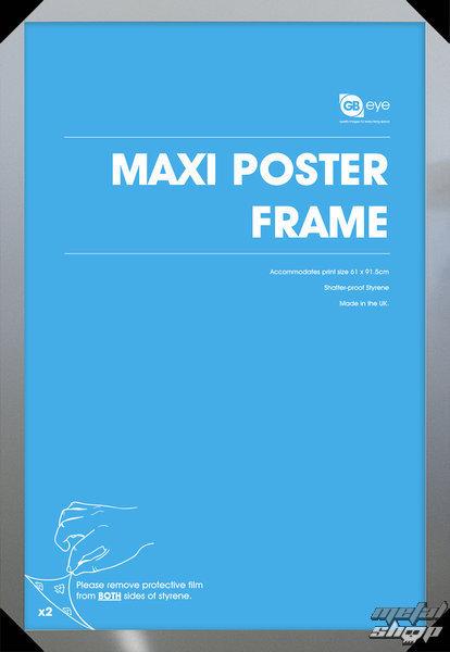 rám na plagát (61x91,5 cm) - Silver - GB Posters - FMMXA1SL