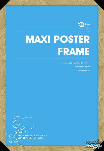 rám na plagát (61x91,5 cm) - Oak - GB Posters - FMMXA1OK