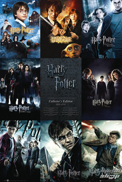 plagát Harry Potter - Collection - GB Posters - FP2698