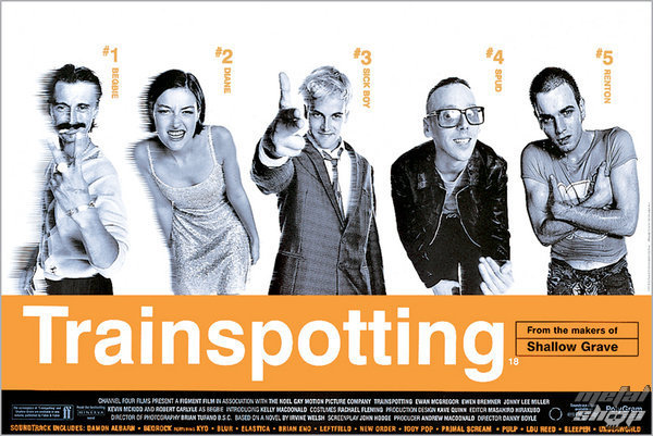 plagát Trainspotting Film Score - GB Posters - FP0288