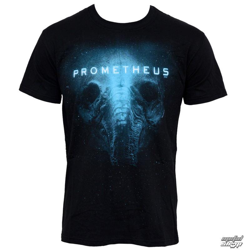 tričko pánske Prometheus - Alien Skull- PLASTIC HEAD - PH7216