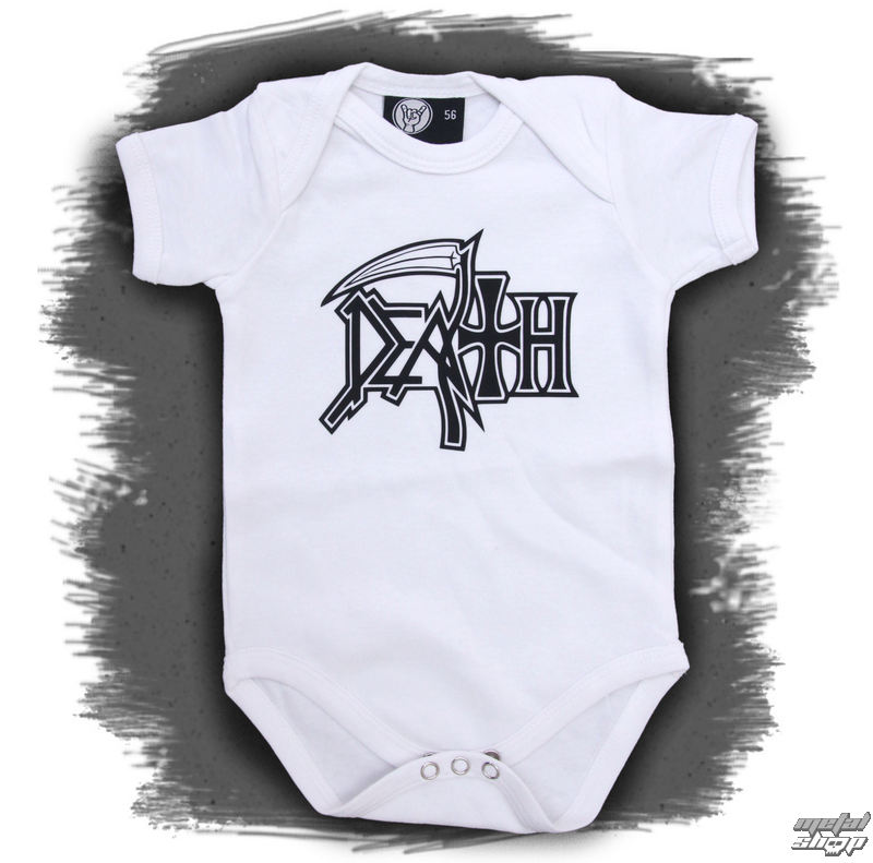 body detské Death - Logo - White - Metal-Kids
