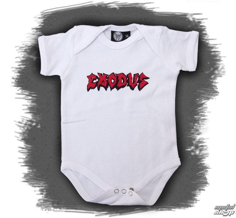 body detské Exodus - Logo - White - Metal-Kids