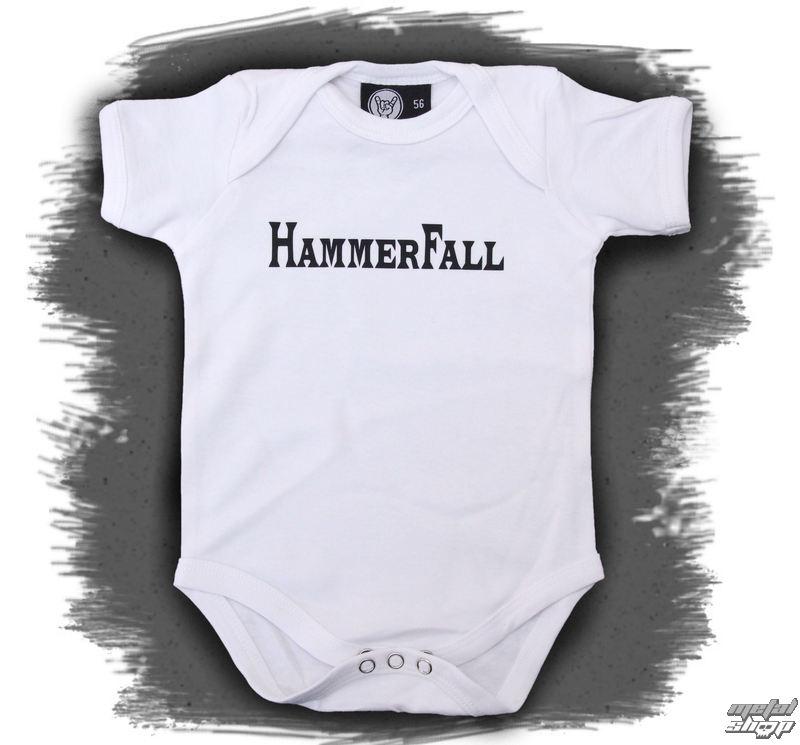 body detské Hammerfall - Logo - White - Metal-Kids