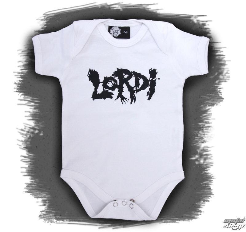 body detské Lordi - Logo - White - Metal-Kids