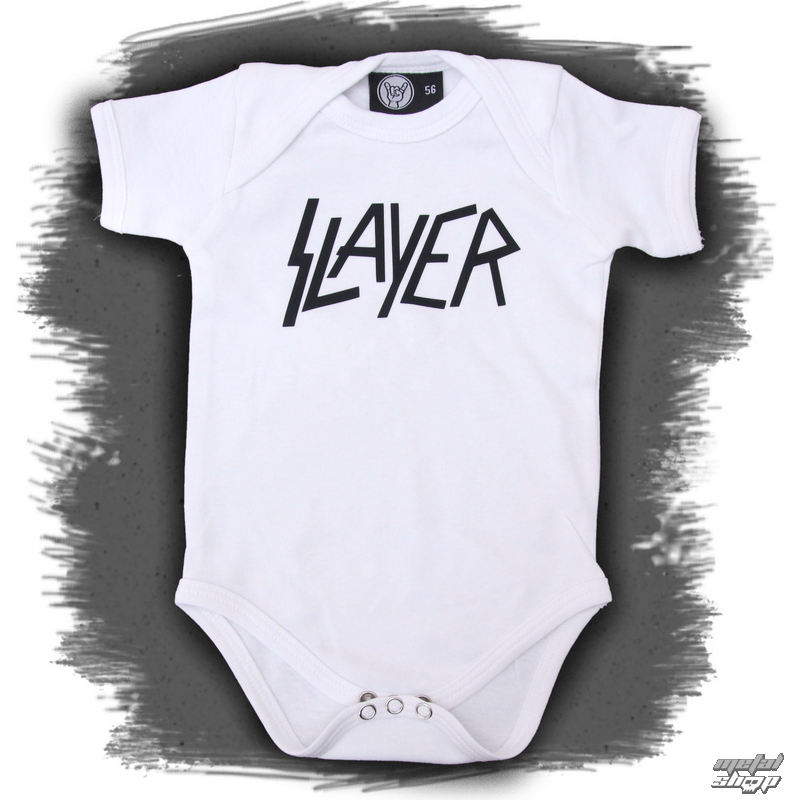 body detské Slayer - Logo - White - Metal-Kids