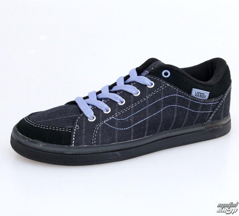 topánky dámske VANS - W Skyla - Menswear - Black - VKXK5KE