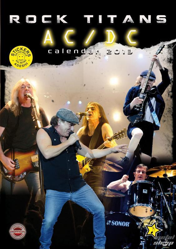 kalendár na rok 2013 - AC/DC  - IMACA-621
