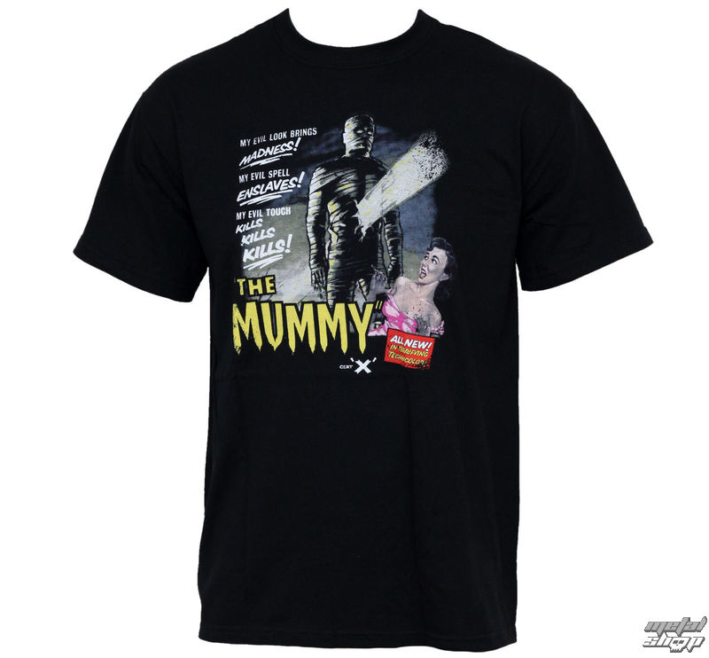 tričko pánske Hammer Horror - The Mummy - HTS-MUM-001