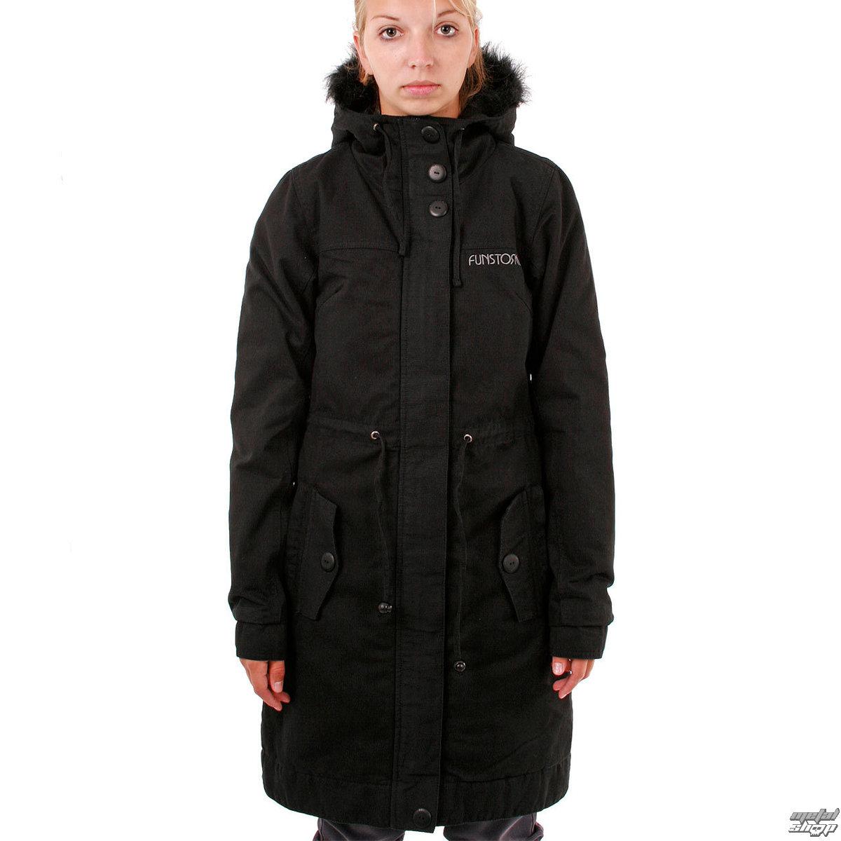 bunda -kabátik- dámska zimný FUNSTORM - Ledoy - 21 BLACK