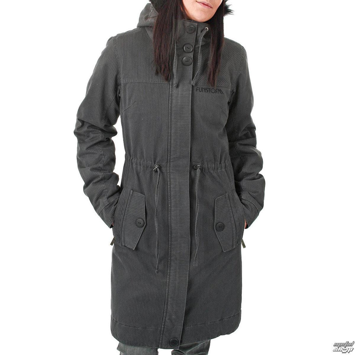 bunda -kabátik- dámska zimný FUNSTORM - Ledoy - 20 D GREY