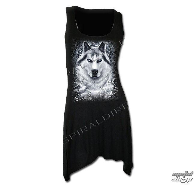 šaty dámske (top) SPIRAL - Wolf - White - TR324234