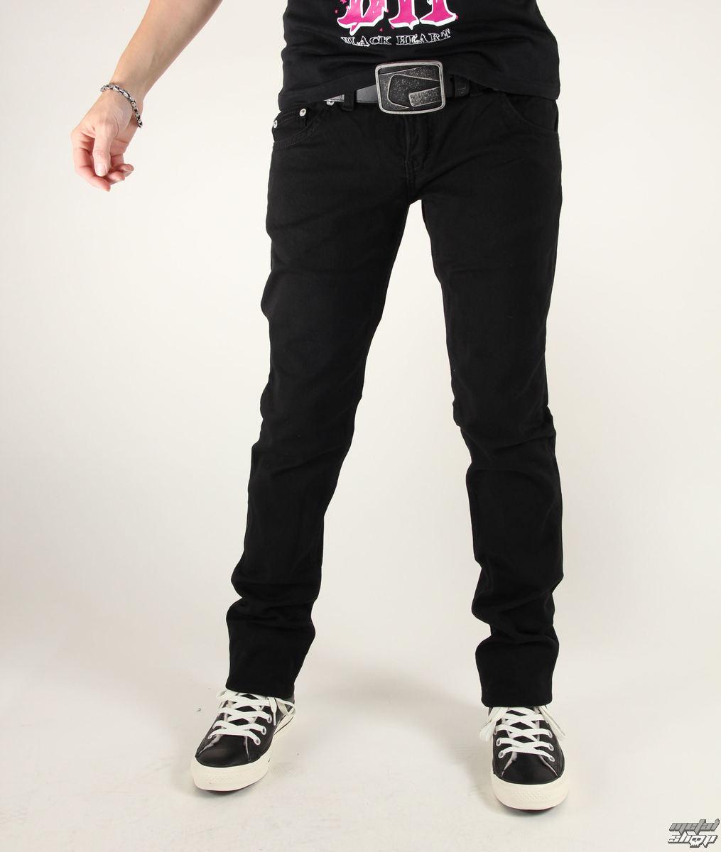 nohavice dámske 3RDAND56th - Zips Back Skinny Jeans - JM1024