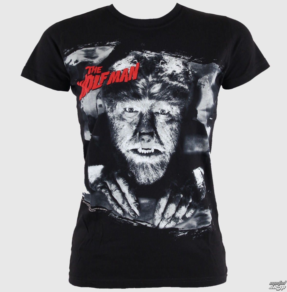 tričko dámske ROCK REBEL - Big Wolfman - č.29