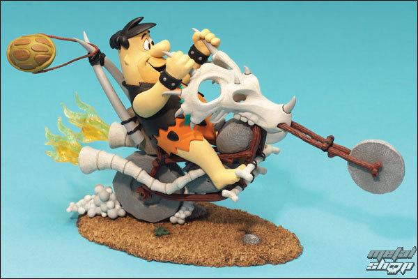 figúrka Hanna Barbera - Fred Flinstone On Chopper AF  - MCF66001