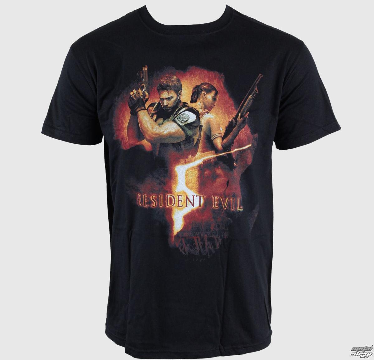 tričko pánske Resident Evil - Back To Back Gun Pose - EMI - TSB9801