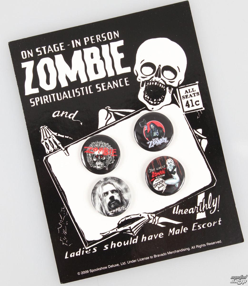odznaky Rob Zombie - Unearth - BRAVADO USA - 931640011