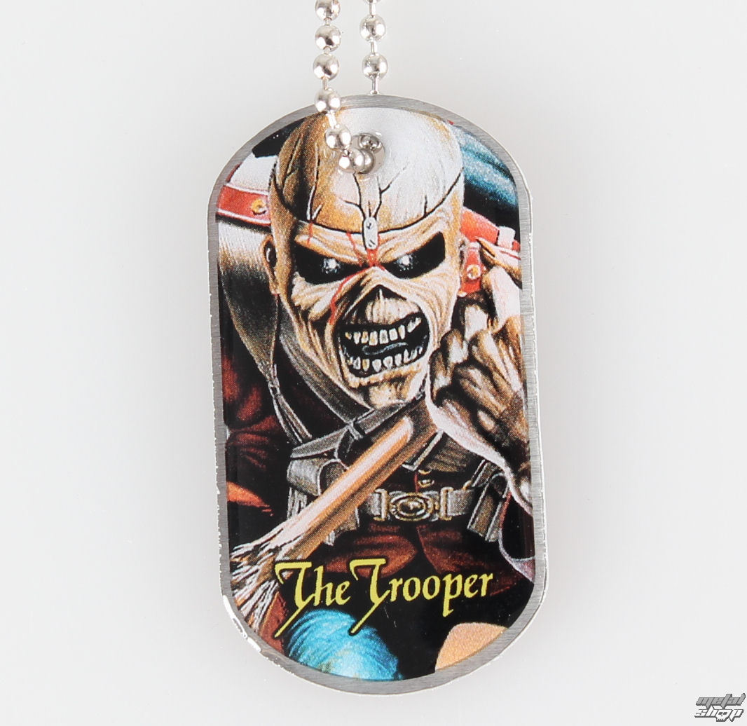 obojok (psie známka) IRON MAIDEN - The Trooper - RAZAMATAZ - DT030