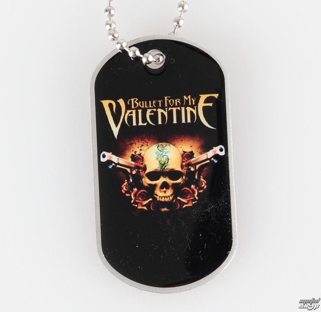 obojok (psie známka) Bullet For My Valentine - Two Pistols - RAZAMATAZ - DT049