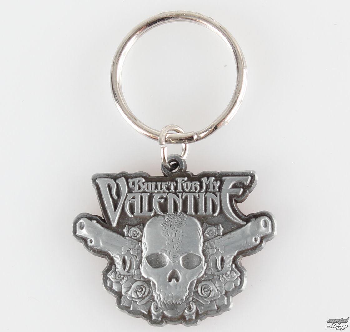 kľúčenka (prívesok) Bullet For My Valentine - Two Pistols - KR109