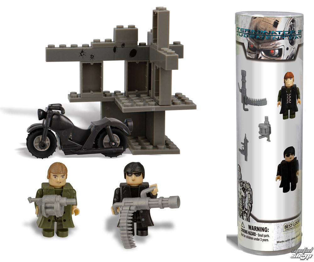 figúrky Terminator 2 - Best-Lock Construction Set Kyle Reese & Terminator - BL01021T