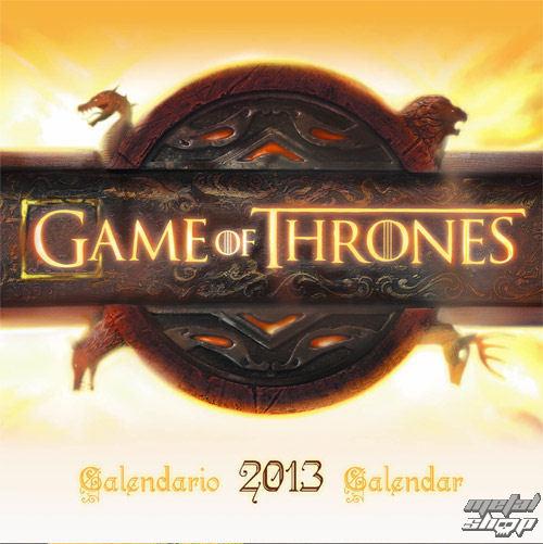 kalendár na rok 2013 Hra o tróny - English & Spanish Version - SDTHBO02099