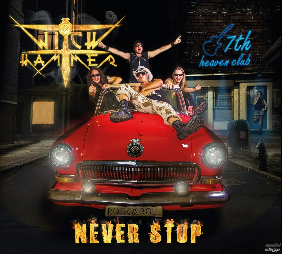 CD WITCH HAMMER - Never stop