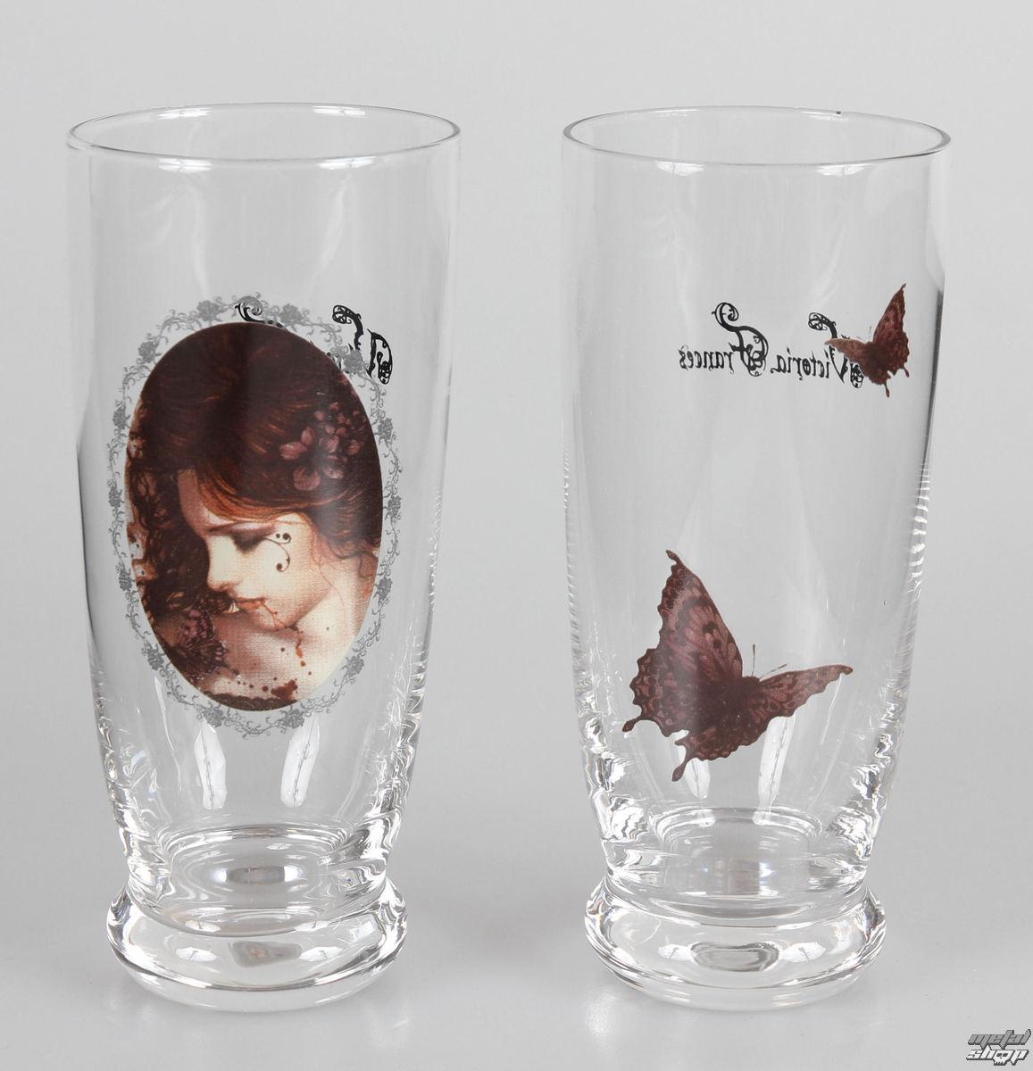 poháre (sada 2 kusov) Victoria Frances - Butterfly U. Butterfly - 10540300