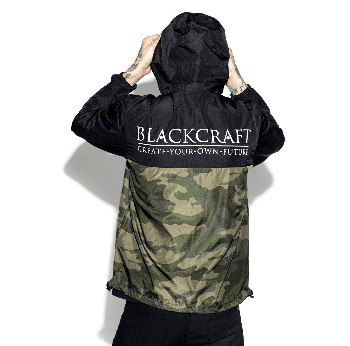 bunda (unisex) BLACK CRAFT - Staple Black on Camo - WB007SB