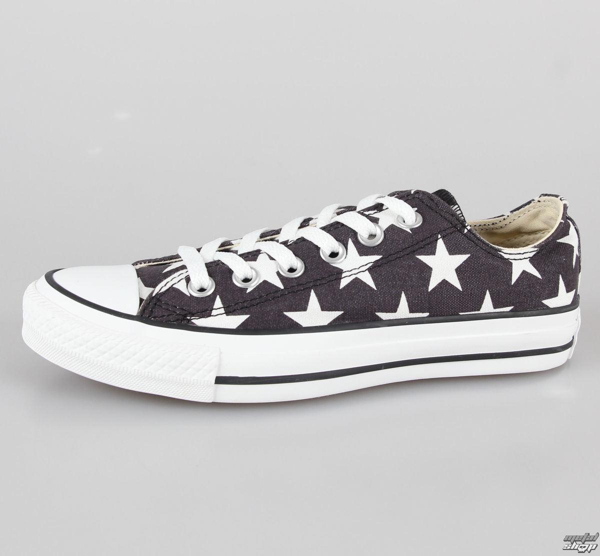 topánky dámske CONVERSE - Chuck Taylor All Star - CT OX Black/White - C136613