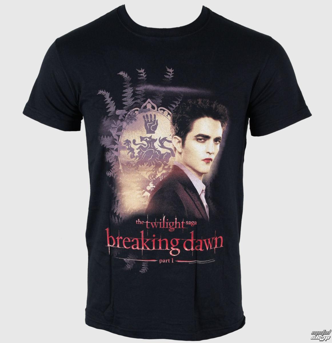 tričko pánske Twilight - Breaking Dawn - Edward Crest - LIVE NATION - PE8554TSBP