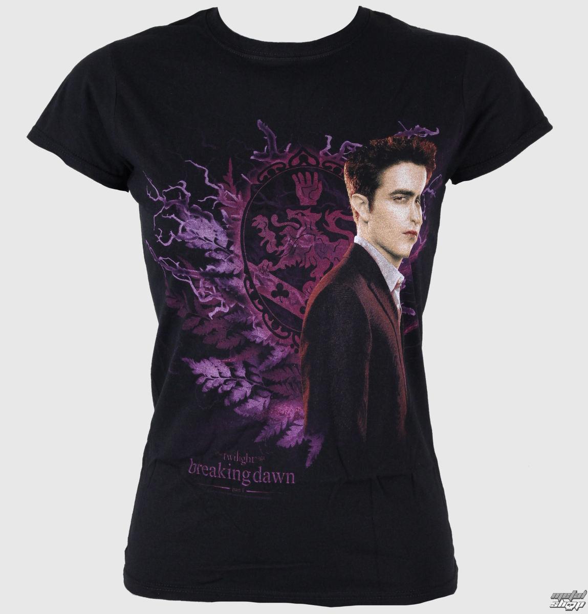 tričko dámske Twilight - Breaking Dawn - Edward Foliage - LIVE NATION - PE8778SKBP