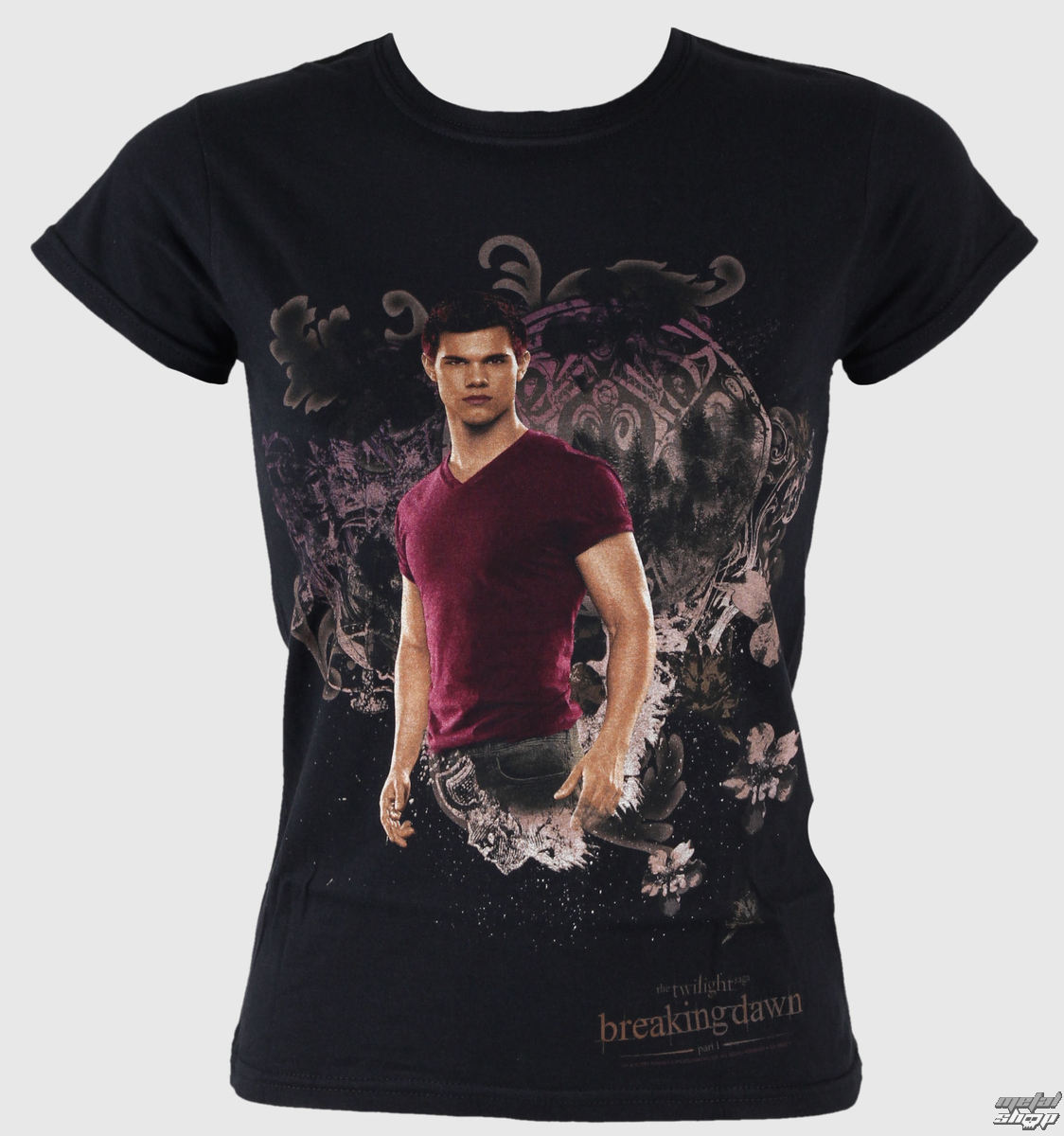 tričko dámske Twilight - Breaking Dawn - Jacob Tatoo And Swirls - LIVE NATION - PE8779SKBP