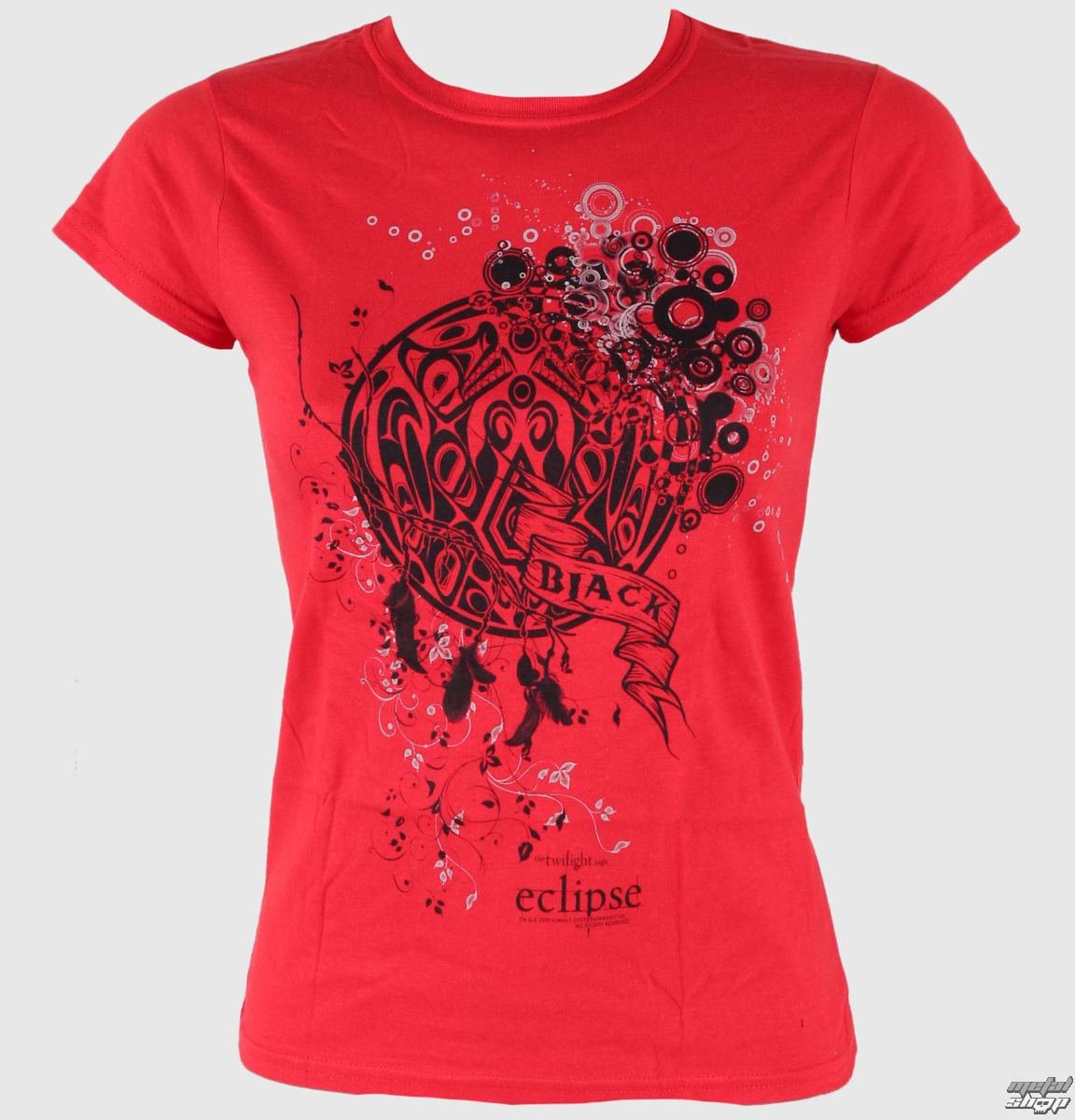tričko dámske Twilight - Eclipse - Wolf Pack Tattoo With Bubbles - LIVE NATION - PE6602SKCP