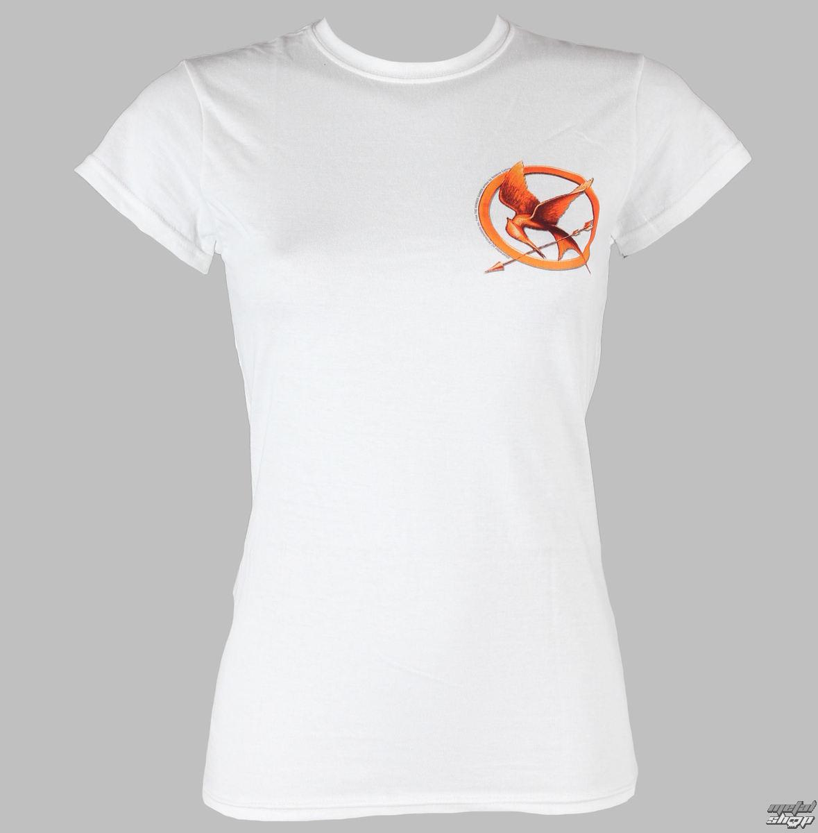 tričko dámske Hunger Games - Mocking Jay Pin - LIVE NATION - PE9613SKW