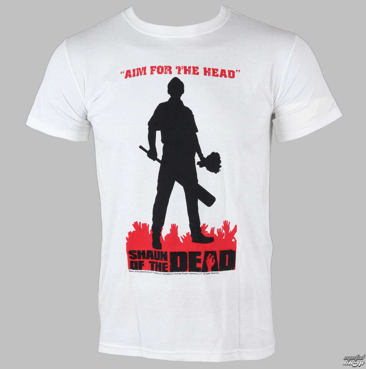 tričko pánske Shaun Of The Dead - Silhouette - LIVE NATION - PE7959TSWP