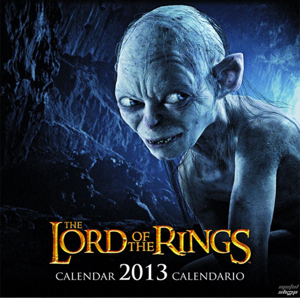 kalendár na rok 2013 Pán prsteňov - English & Spanish Version - SDTLTR02222