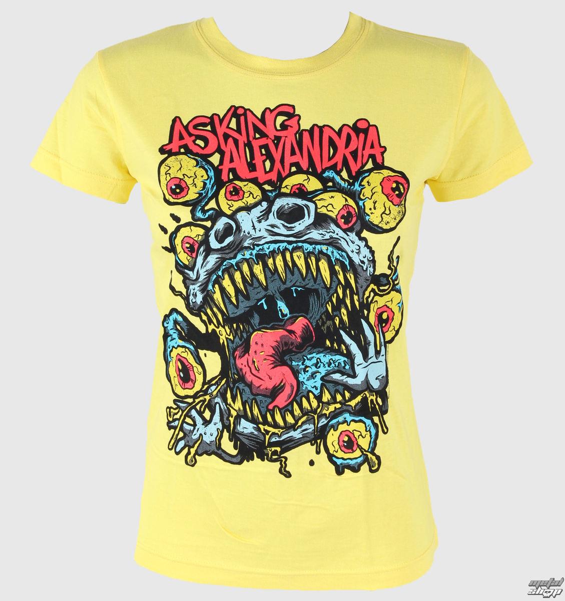 tričko dámské Asking Alexandria - Eyeballs - PLASTIC HEAD - PH7180
