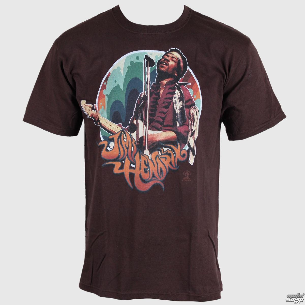 tričko pánske Jimi Hendrix - Hendrix Groove - LIQUID BLUE - 11634