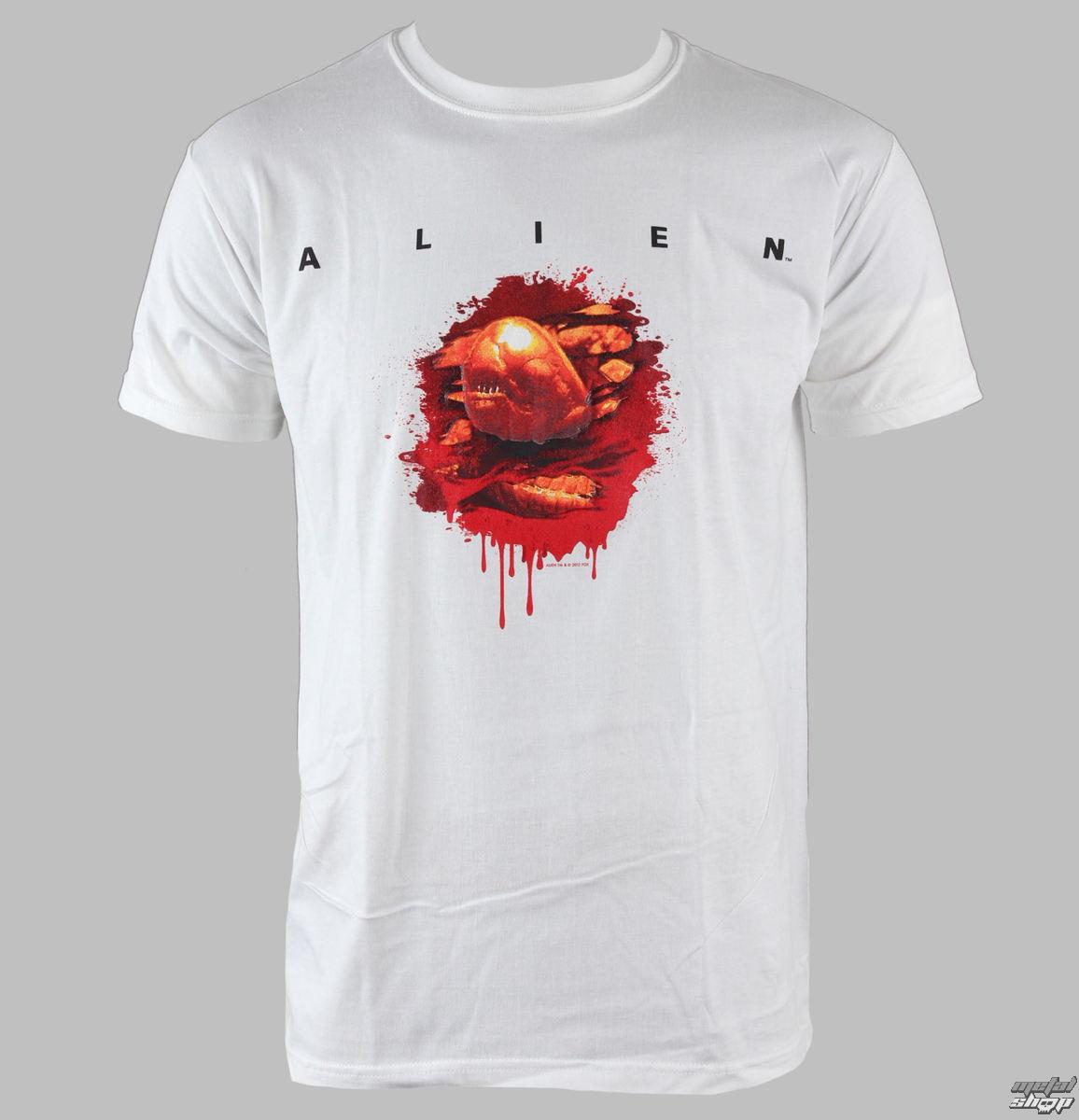 tričko pánske Alien - Chestburster - PLASTIC HEAD - PH7215