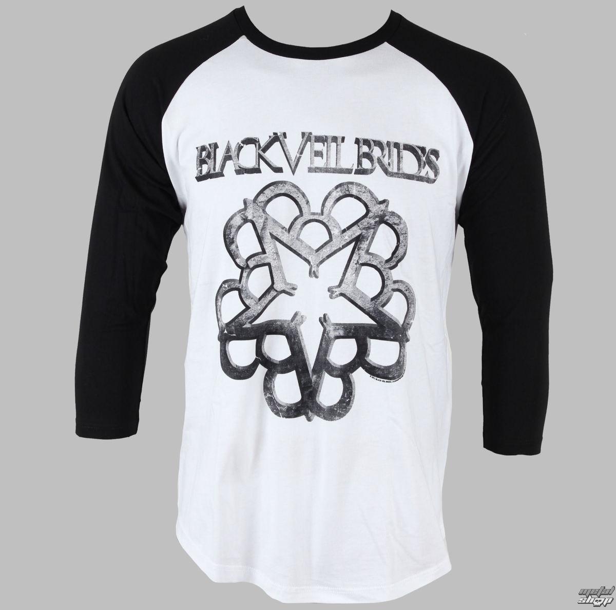 tričko pánske s dlhým rukávom Black Veil Brides - Solid - PLASTIC HEAD - PH6076