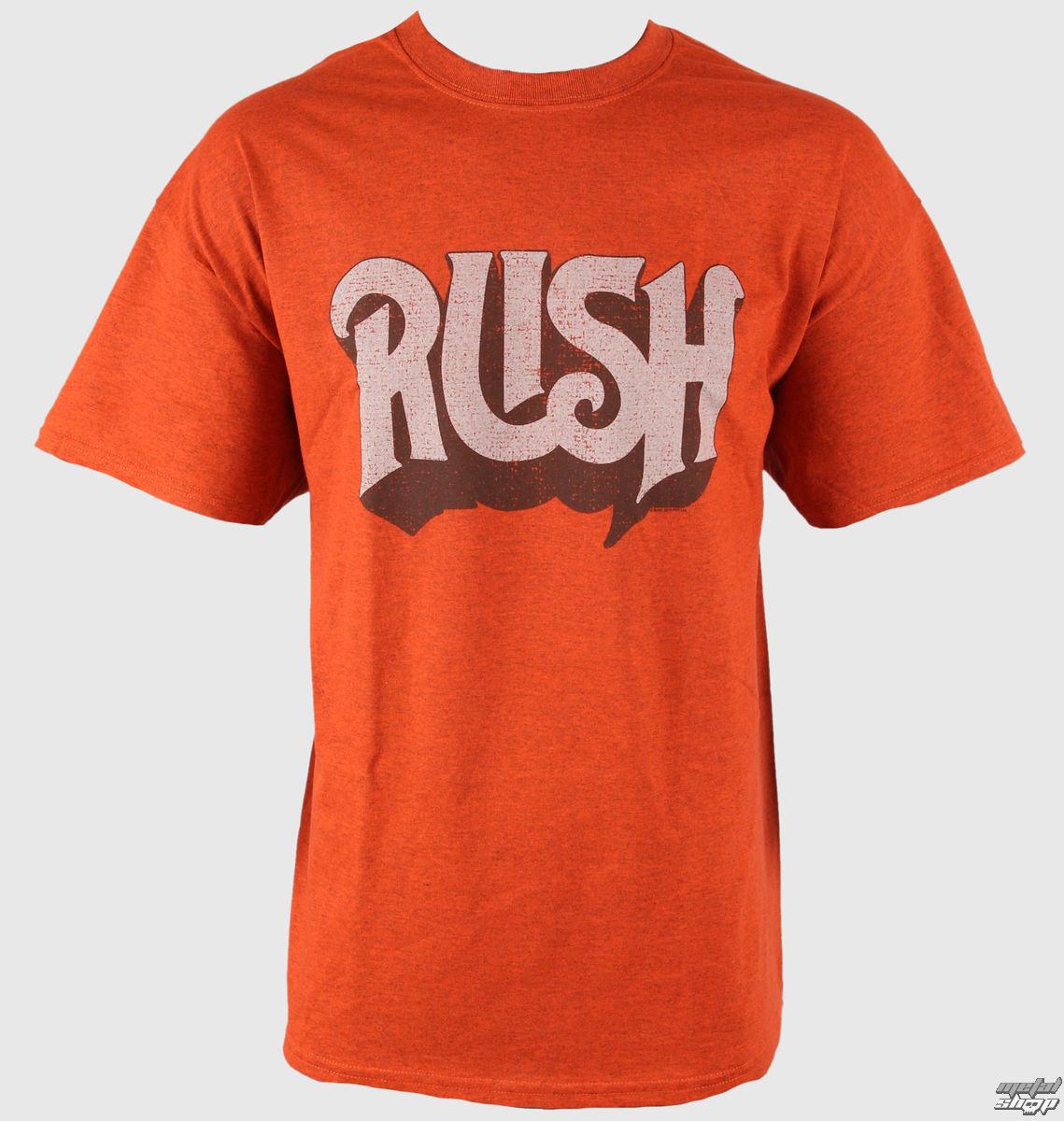 tričko pánske Rush - Vintage Logo - PLASTIC HEAD - PH7144