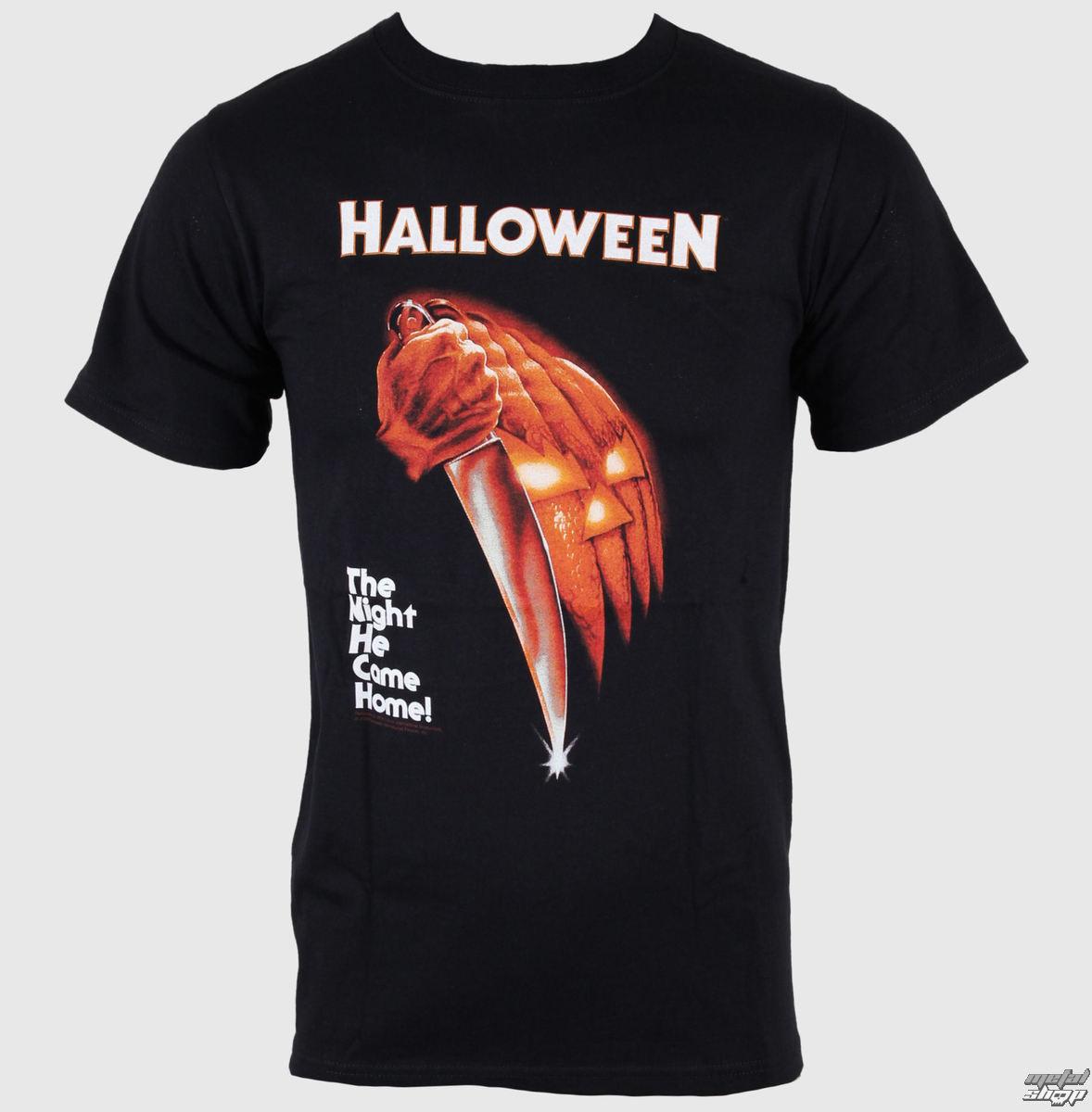 tričko pánské Hallowen - Night He Came Home - Black - IMPACT - HLWN01