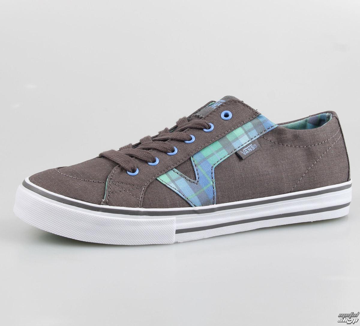 topánky dámske VANS - Tory (Plaid) - Grey/Turquoise - VOK670A