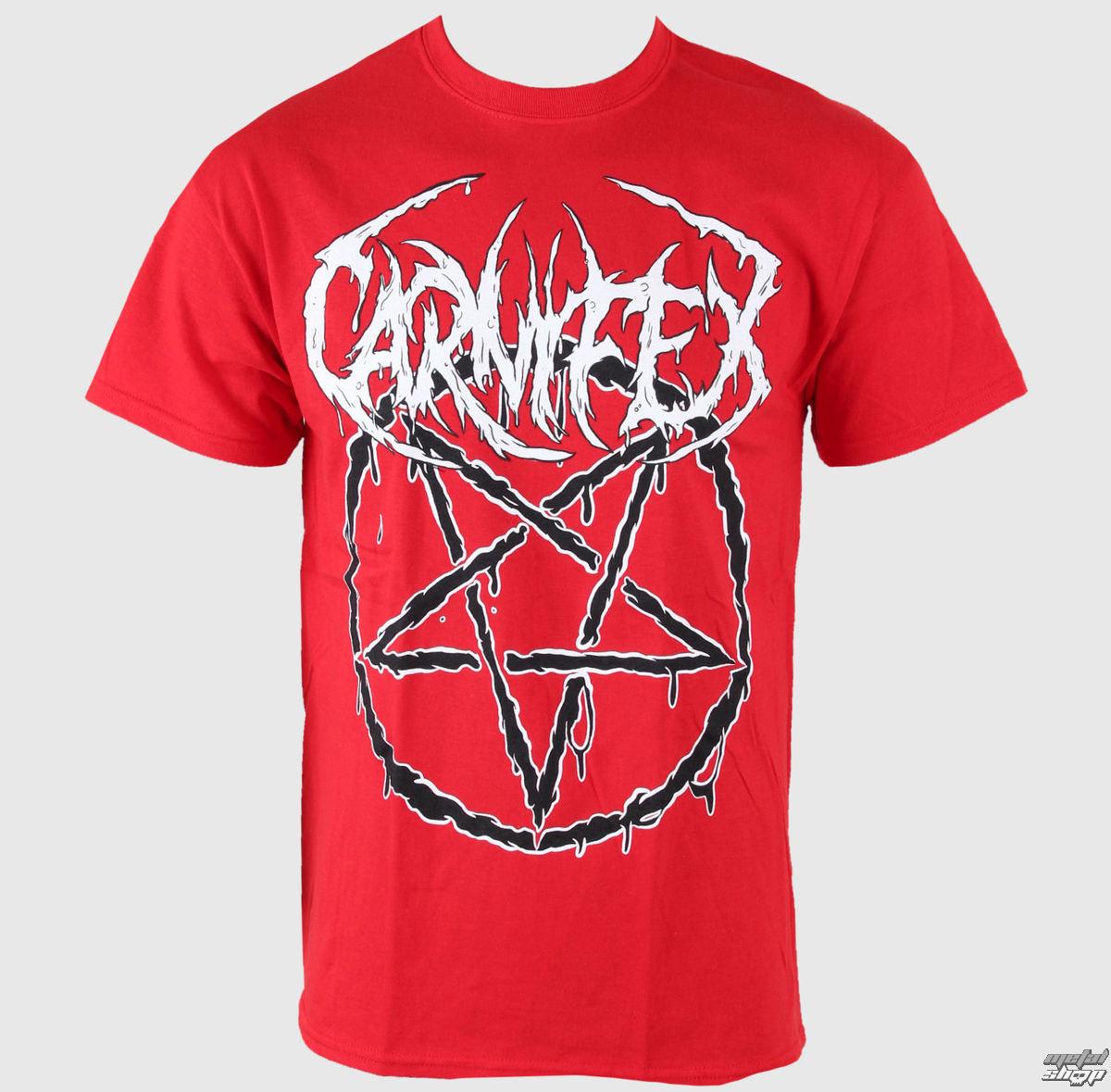 tričko pánske Carnifex - Pentagram - VICTORY - VT513