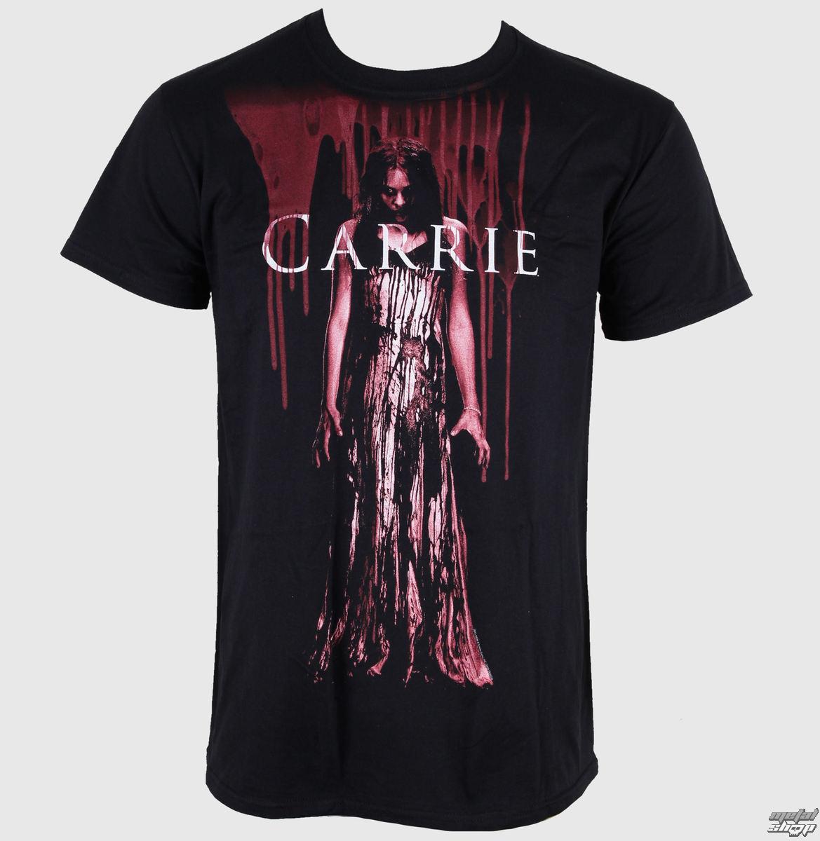 tričko pánske Carrie - Blood Drips - LIVE NATION - PE10113TSB