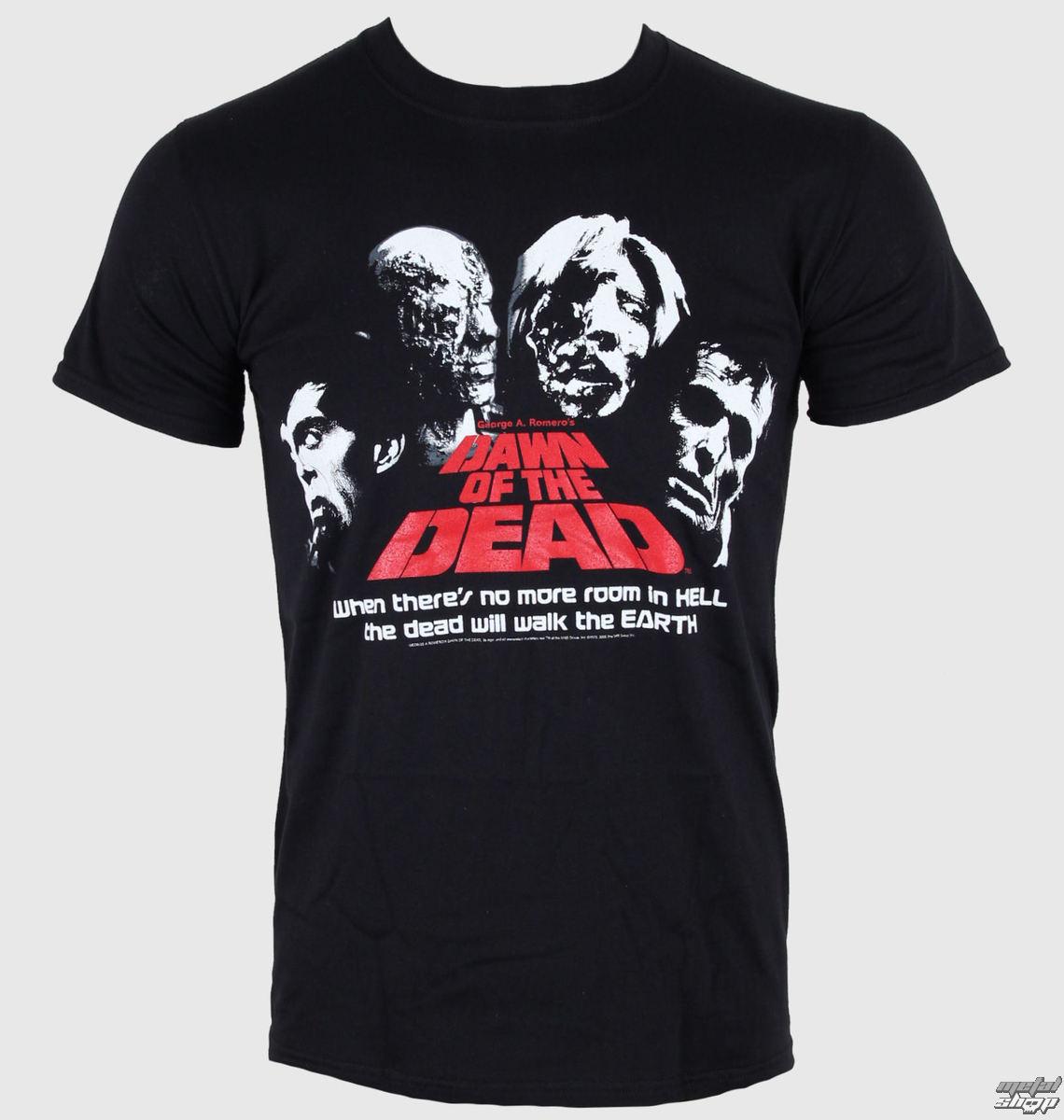 tričko pánske Dawn Of The Dead - Head Shots - LIVE NATION - PE10117TSB