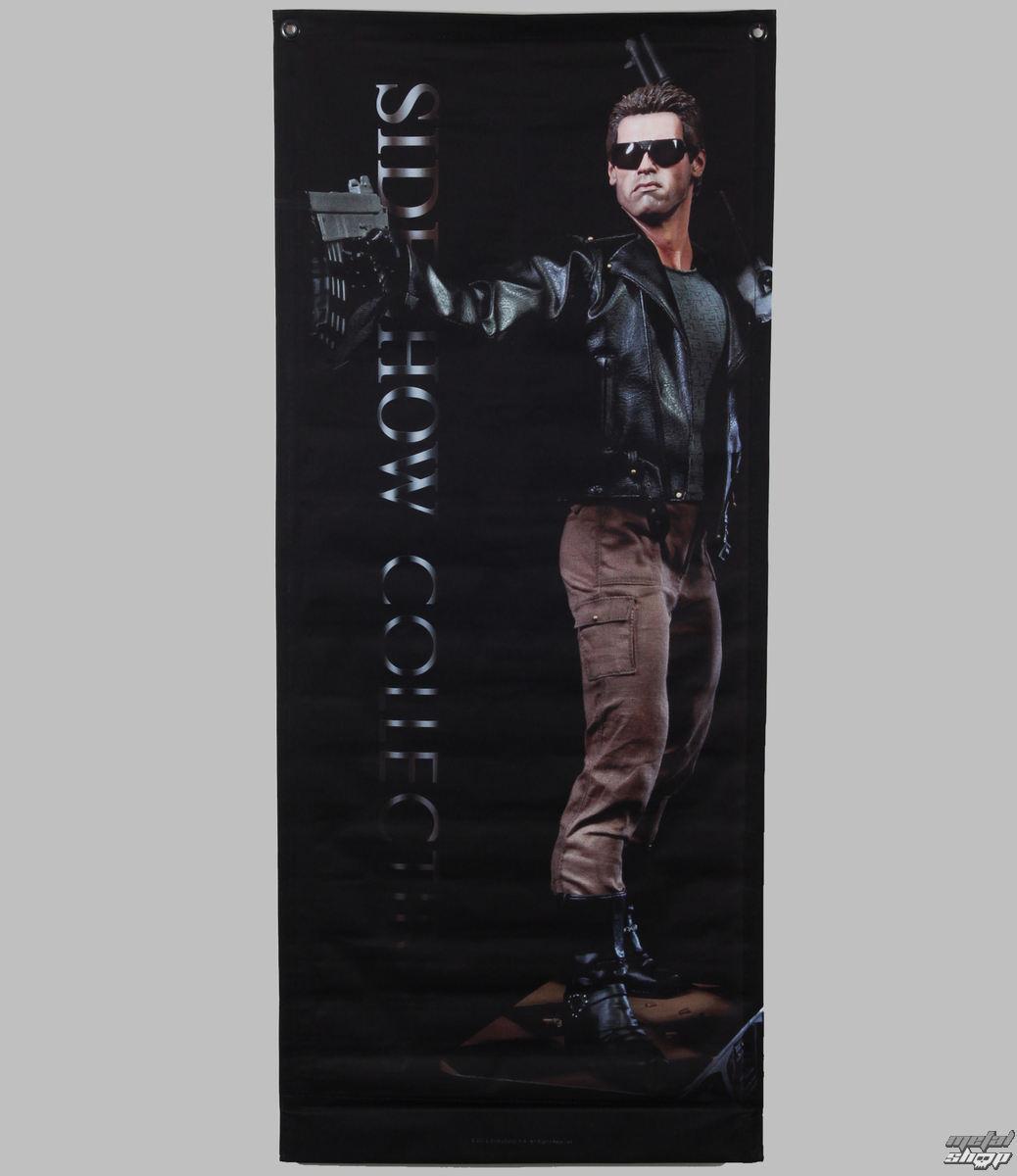 vlajka (banner) Terminator - T-800 - 64x152 - SSBAN002M