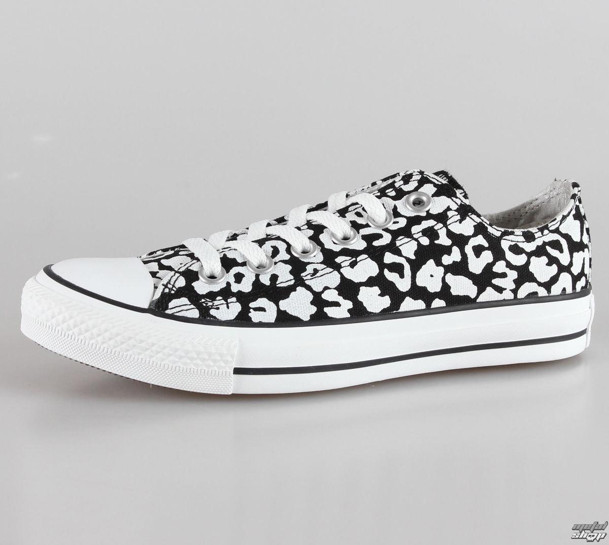 topánky dámske CONVERSE - Chuck Taylor All Star OX - Black/White - C537138
